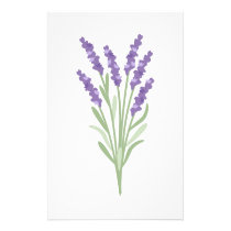Lavender Herb Stationery