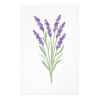 Lavender Herb Stationery