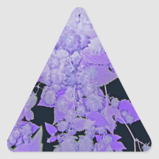 Lavender Hops Triangle Sticker