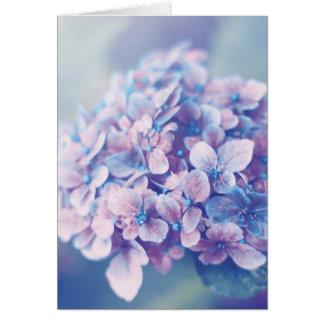 Lavender Hydrangea Card