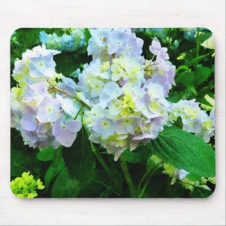 Lavender Hydrangea in Garden Mouse Pad