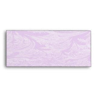 Lavender Ice Envelope