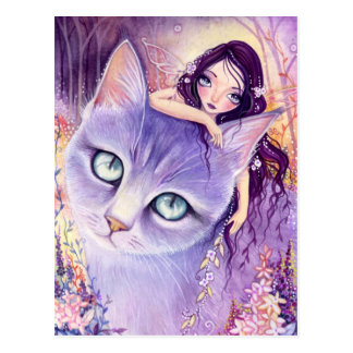 Lavender Illusion- Postcard