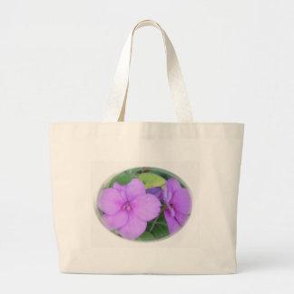 Lavender Impatients in Swirl Bags