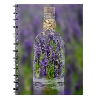 Lavender in a Bottle Notebook