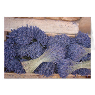 Lavender in a Box Greeting Card