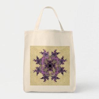 Lavender Ink Blot Bag