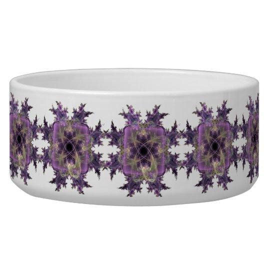 Lavender Ink Blot Bowl