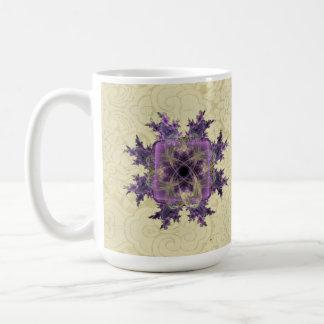 Lavender Ink Blot Coffee Mug