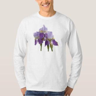 Lavender Irises Mens T-Shirt