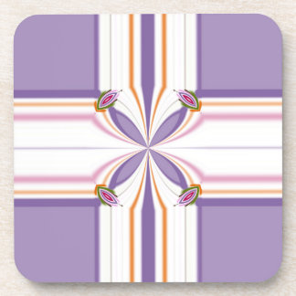 Lavender jump; New Day Drink Coaster
