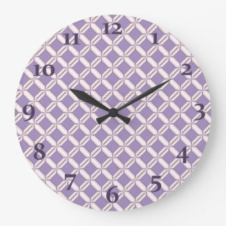 Lavender jump; New Day Large Clock