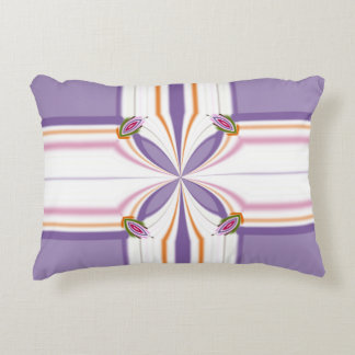 Lavender jump; New Day Accent Pillow