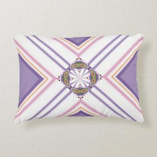 Lavender jump; Pleasant Evening Accent Pillow