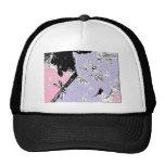 Lavender Kitten Mesh Hats