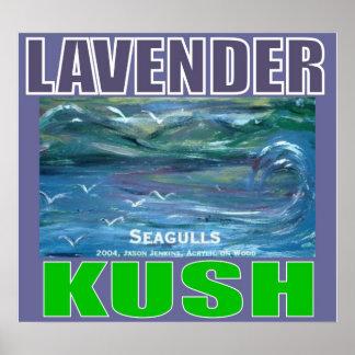 LAVENDER KUSH PRINT