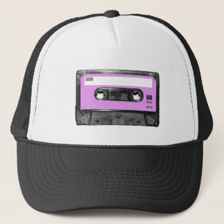 Lavender Label Cassette Trucker Hat