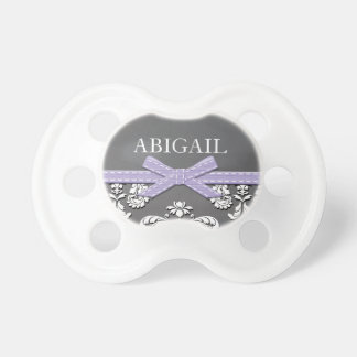 LAVENDER LACE VINTAGE CHALKBOARD BABY PACIFIER