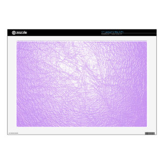 lavender leather texture skin for laptop