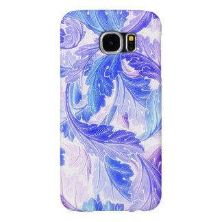 Lavender Leaves Samsung Galaxy S6 Case