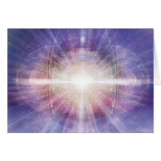 Lavender Light Matrix Card