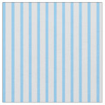 [ Thumbnail: Lavender & Light Sky Blue Colored Lines Fabric ]