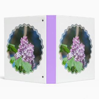 Lavender Lilacs Binder
