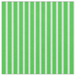 [ Thumbnail: Lavender & Lime Green Lined Pattern Fabric ]