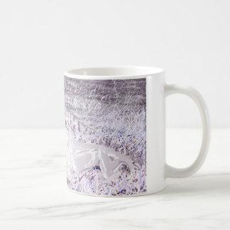 Lavender Lions Mug