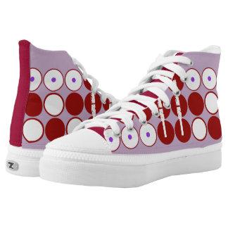 Lavender Londyn High-Top Sneakers