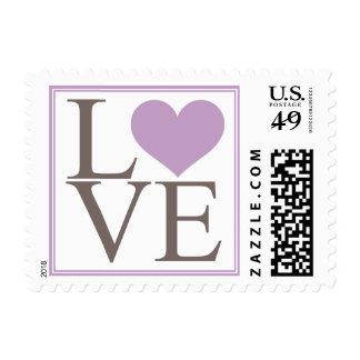 Lavender Love Postage Stamp