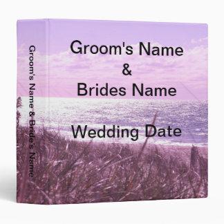 Lavender Love Wedding Binder