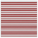 [ Thumbnail: Lavender & Maroon Colored Stripes Pattern Fabric ]
