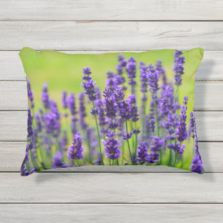 Lavender Meadow Outdoor Pillow