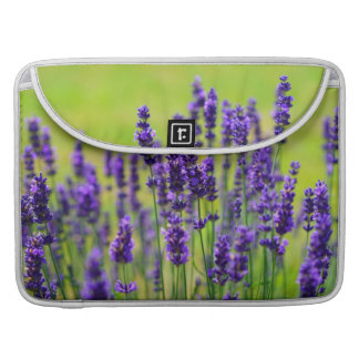 Lavender Meadow Sleeve For MacBooks