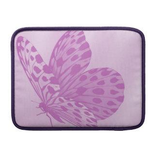 Lavender Monarch Butterfly Mac Book Sleeve