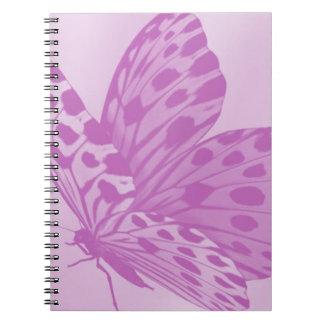 Lavender Monarch Butterfly Notebook