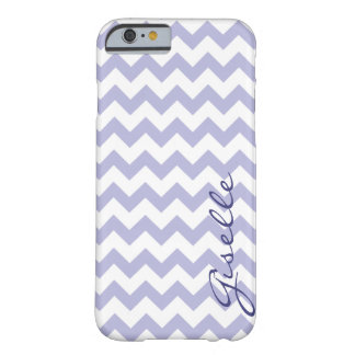 Lavender Monogram Chevron Zigzag Pattern iPhone 6  Barely There iPhone 6 Case