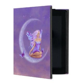 Lavender Moon Butterfly Fairy iPad Case
