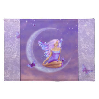 Lavender Moon Butterfly Fairy Placemat