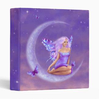 Lavender Moon Fairy Binder