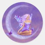 Lavender Moon Fairy Sticker