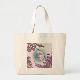 Lavender Moon Large Tote Bag