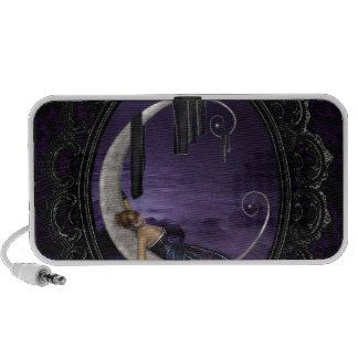 Lavender Moon iPod Speakers