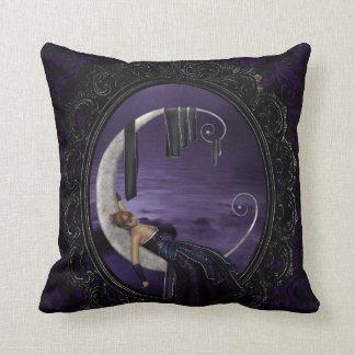 Lavender Moon Throw Pillow