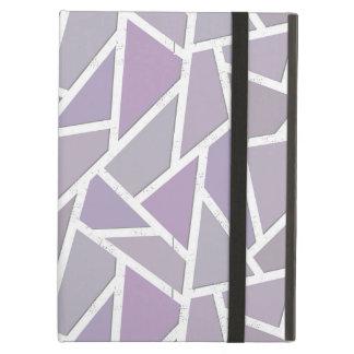 Lavender mosaic pattern case for iPad air
