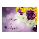 Lavender Mum Thank You Card