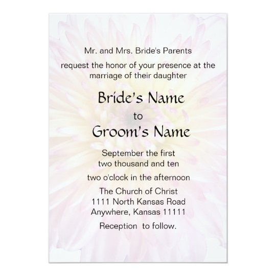 Lavender Mum Wedding 2 Card