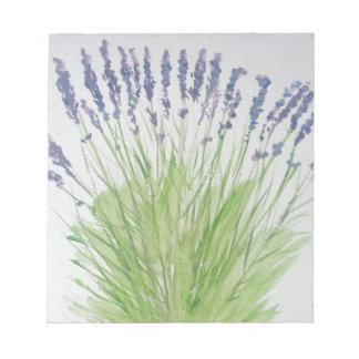 Lavender Notepad