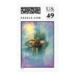 Lavender Oasis, Stamps